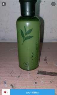 innisfree綠茶爽膚水
