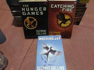 The Hunger Games trilogy novel by Suzanne Collins