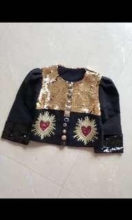 DG Jacket And skirt set
