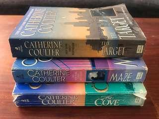BOOKS! Catherine Coultier 3 Books Package 01
