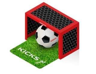 (全新)Nissan 足球小將玩具組