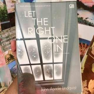 Let The Right One In (Novel by John Ajvide Lindqvist)
