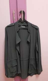 Grey Blazer/Outerwear