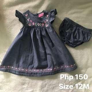 Baby Dress used twice only