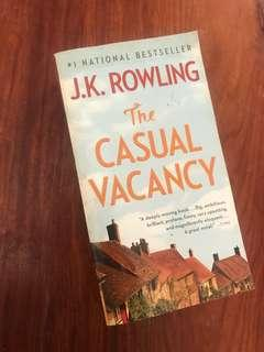 BOOKS! The Casual Vacancy by JK Rowling