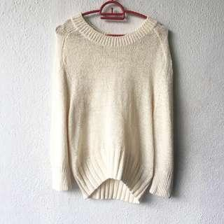 Knit Sweater Blouse Top