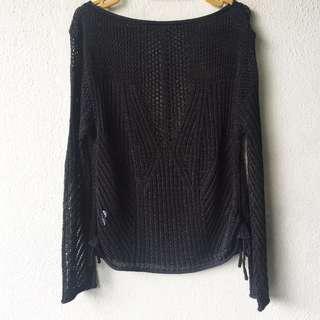 Knit Blouse Top