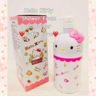 *IN STOCK IN SG* Hello Kitty Shower Foam Container