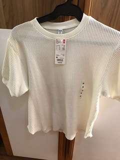 Uniqlo waffle blouse