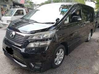 MPV CAR AIRPORT TRANSFER WITH PRICE AS LOW AS RM250!