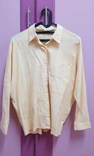 Cottonink Yellow Shirt / Kemeja #JAN25