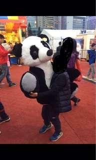 AIA 嘉年華 大獎 大 熊貓 公仔