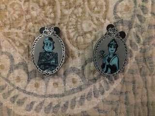 Authentic Disney Haunted Mansion Pins