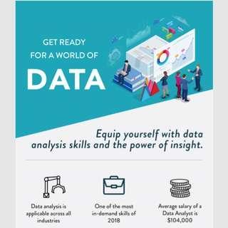 Free Data Analytic Workshop/Course highly subsidized