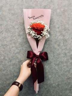 🌹Valentine's Day bouquet | Single stalk rose ✨