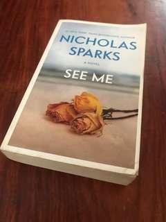 BOOKS! Nicholas Sparks See Me