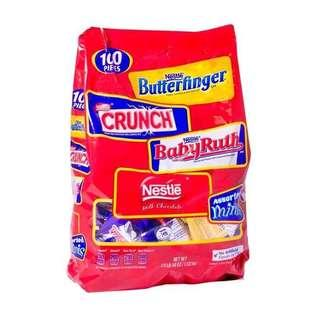 Nestle Minis Assorted Bag (60pcs)