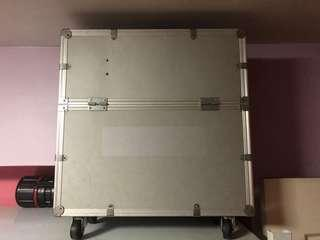 Large Aluminum Case with Wheels
