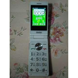 🚚 Benten W650摺疊式3G雙螢幕手機(老人機) 3G 4G 皆可用,大鈴聲 大按鍵 大字幕,功能正常,只賣700元