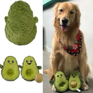 For all size breed Leaps n Bounds Avocado Dog toy