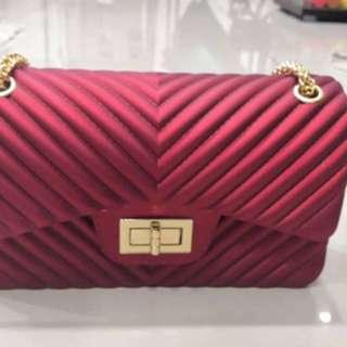 Jelly Red Bag