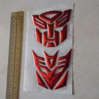 Transformer 6cm Emblem