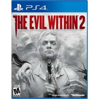 PS4 games The Evil Within 2