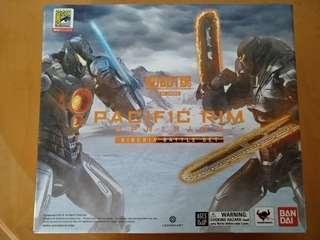 中古 二手 9成9新 Robot 魂 Pacific Rim Uprising Siberia Battle Set 捍戰太平洋  限定