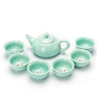 鯉魚 茶具 一套(全新)