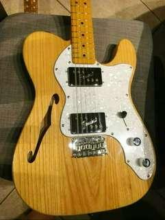 Squier Vintage Modified Thinline '72 Telecaster Natural Ash Body (Squier by Fender)
