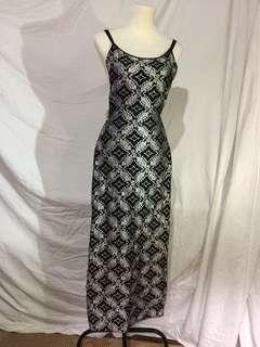 Ribbon Long Dress