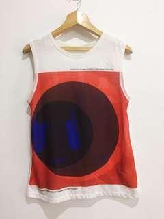 Zara Sleeveless Printed Top Shirt Blouse