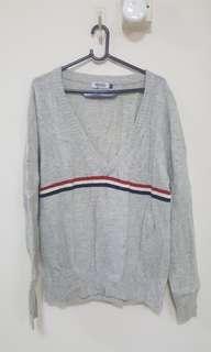 Brand New Grey low neck wool (Plus size)