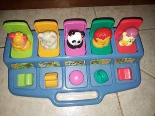 Fisher Price Pop up Animal Toy