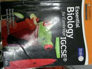 Cambridge IGCSE Biology textbook