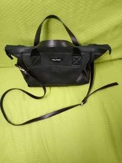 Nautica Black 2 way Hand Bag Authentic (good as new)