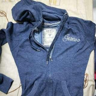 Guess hoodie jacket size S