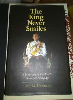 The King Never Smile... Paul Handley