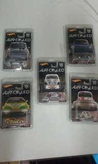 Hot Wheels Air-Cooled German Cars Complete Set
