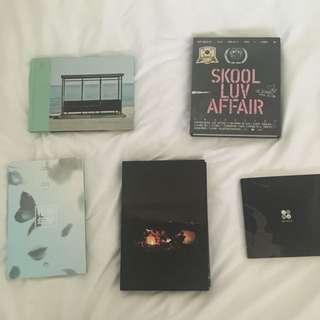 instock;bts albums