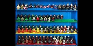 ORIGINAL CUSTOM LEGO MINIFIGS MINIFIGURES X-MEN MARVEL SUPERHEROES AND ALL DC HEROES NEW UNUSED