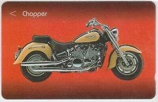 Chopper Singapore Phonecard