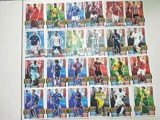 Soccer cards (Match Attax)
