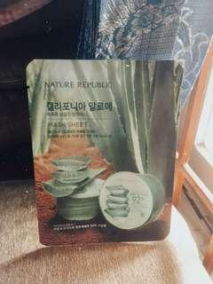 Sheet mask Nature Republic