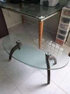 Pretty Glass Coffee Table