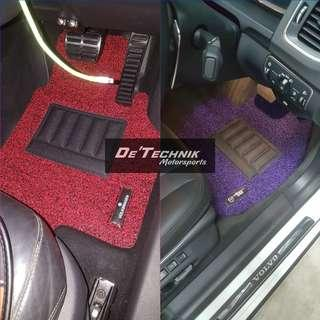 2 TONE Car Carpets/ Car Mats/ Floor Mats