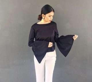 Bell Sleeves Top by 88th Atelier