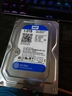 1TB HDD WD Blue SATA