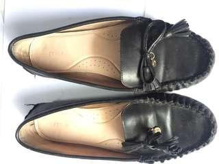 Milano Flat Shoes (Black)