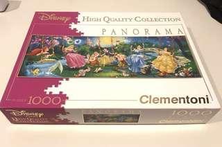 disney princess panorama 1000-piece puzzle